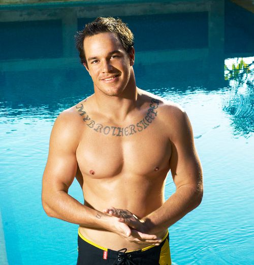 Abberton is was in the running for Cleo Bachelor of the Year in 2006. (AAP)