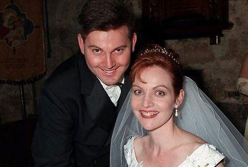Allison Baden-Clay with her husband Gerard.