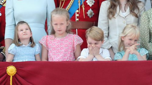 Prince George self-censors. Picture: Getty