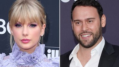Taylor Swift vs Scooter Braun.