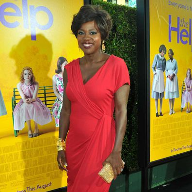 Actress Viola Davis attends the premiere of DreamWorks Pictures The Help in 2011.