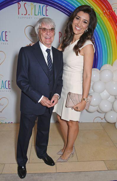 Bernie Ecclestone, Fabiana Flosi, charity event, 2017