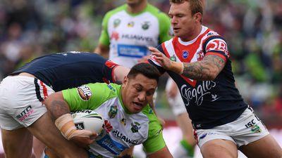 Canberra upset Roosters in NRL thriller