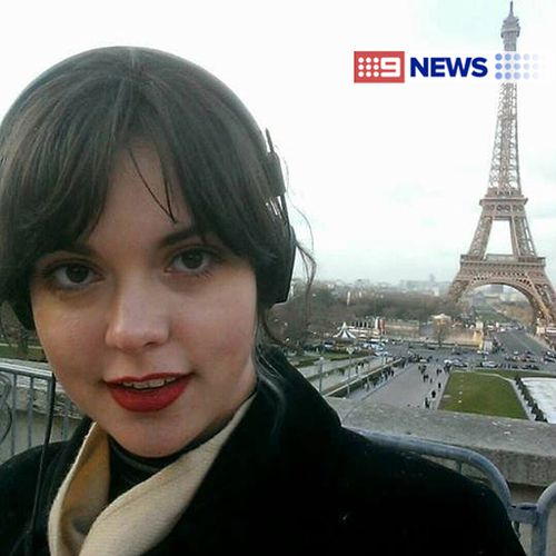 Australian woman Emma Parkinson has been injured in the Paris attacks. (Supplied)