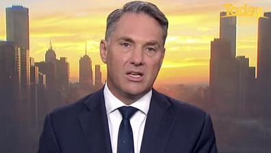 Richard Marles said the vaccine drive so far has been 'a shambles'.