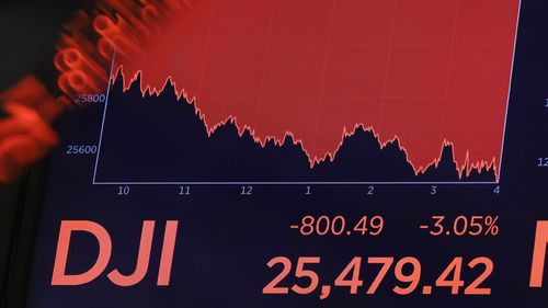 The Dow Jones sank 800 points on August 15 after the bond market flashed a warning sign about a possible recession for the first time since 2007.