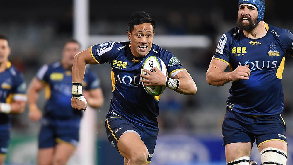 Christian Lealiifano of the Brumbies