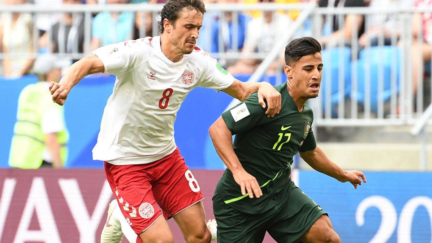 Daniel Arzani made a big impact against Denmark.