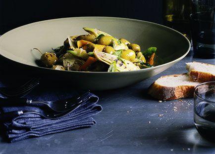 Olive e finocchio