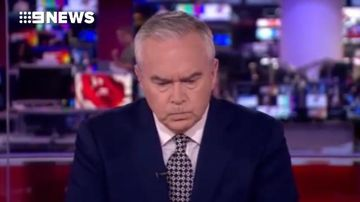 BBC presenter left staring at his desk after technical glitch
