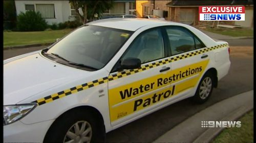 From this weekend, newly employed community water officers will drive around Sydney suburbs handing out fines.