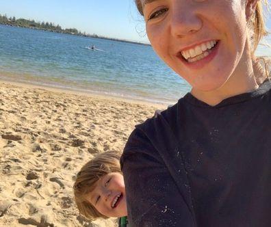 Naomi and Koa NF beach