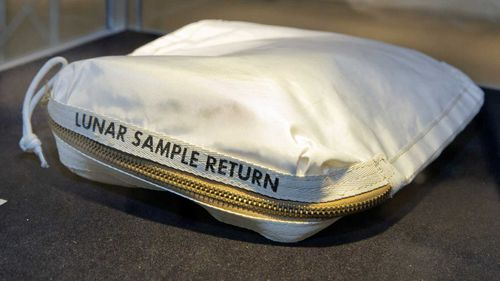 Neil Armstrong's moon bag sells for $US1.8m