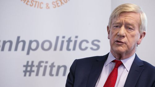Bill Weld won 70 percent of the vote in his re-election bid.