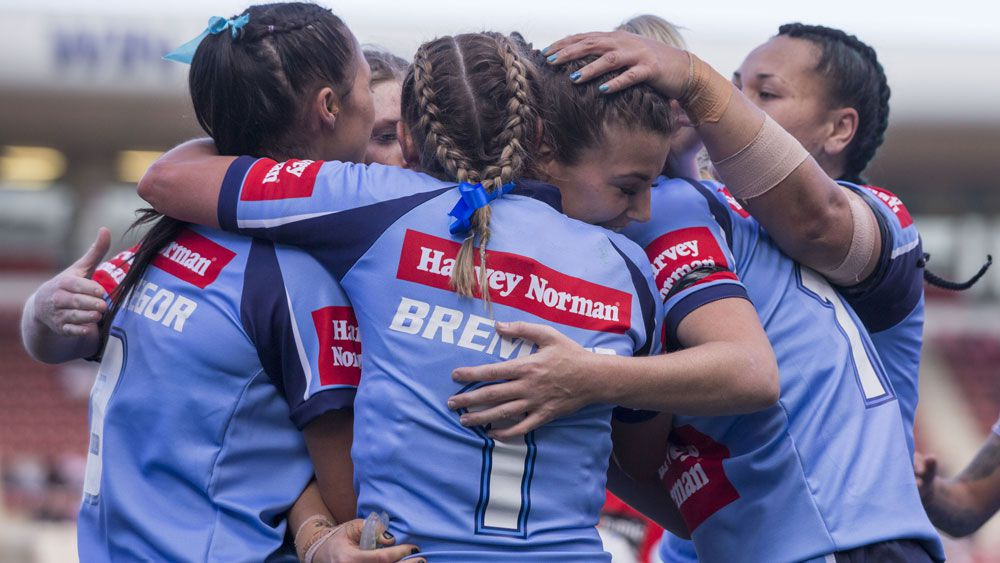 Debutante Jessica Sergis shines for NSW in women's league against Queensland