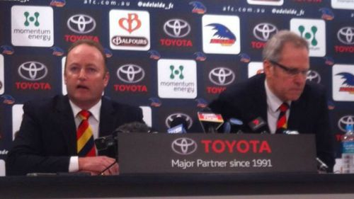 Adelaide Crows CEO Steven Trigg jumps ship for Carlton