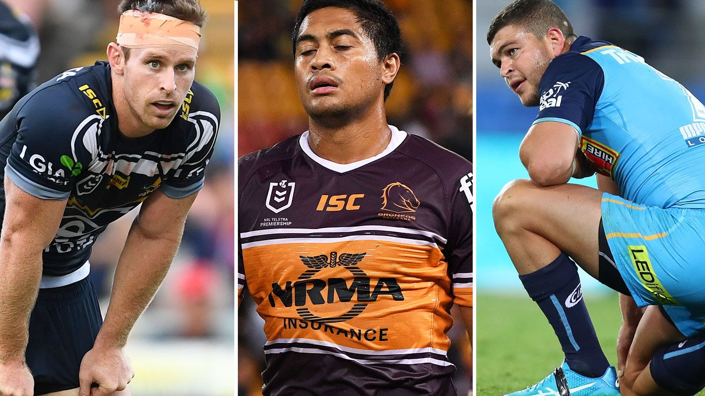Queensland's clubs in strife