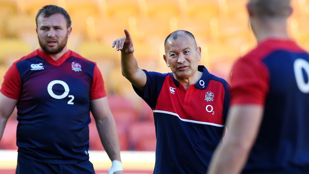 Eddie Jones. (AAP)
