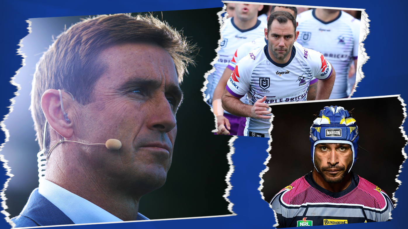 'The complete footy player': Andrew Johns' top five players of the decade