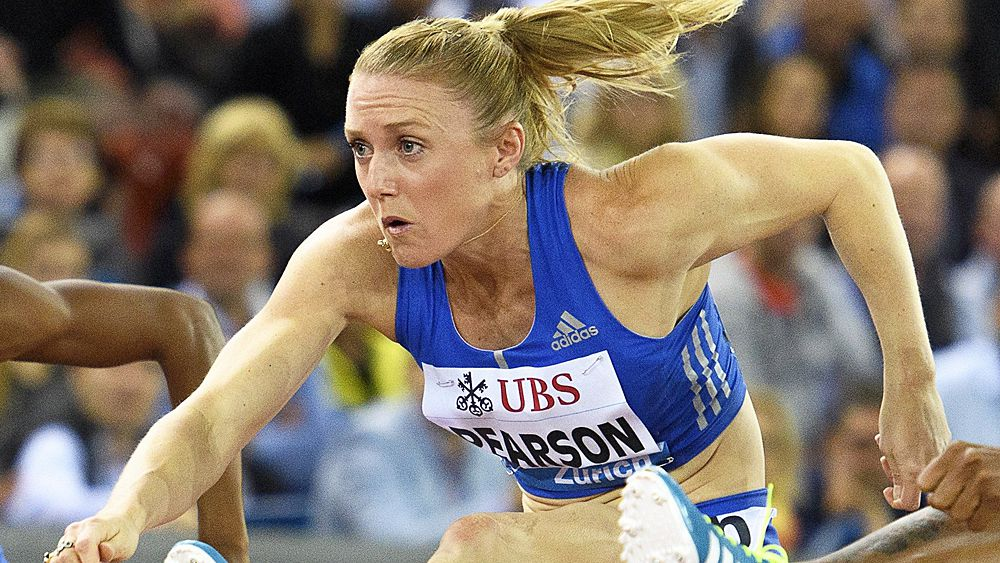 Sally Pearson wins 100m hurdles at Perth Track Classic
