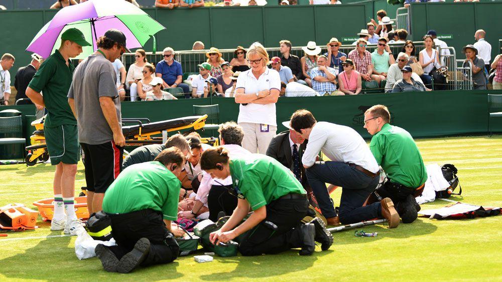 Wimbledon officials defend response to Mattek-Sands injury