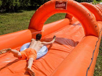 We say slippery dip, you say slide.