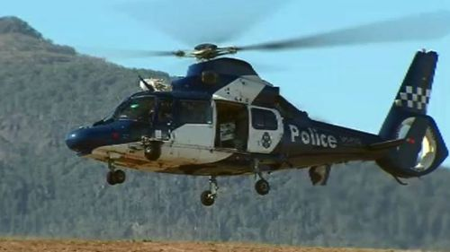 Police have expanded the search radius today. (9NEWS)