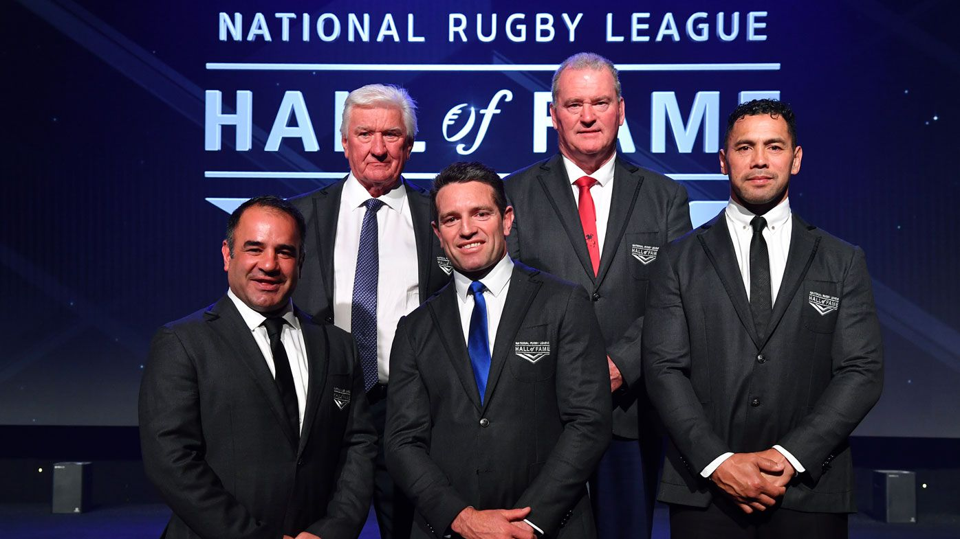 Greats honoured in NRL Hall of Fame