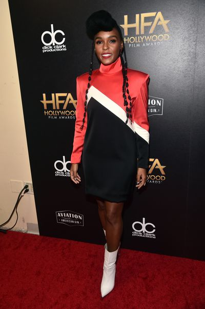 Janelle Monae, in The 2nd Skin Co, at the 22nd Annual Hollywood Film Awards, November, 2018