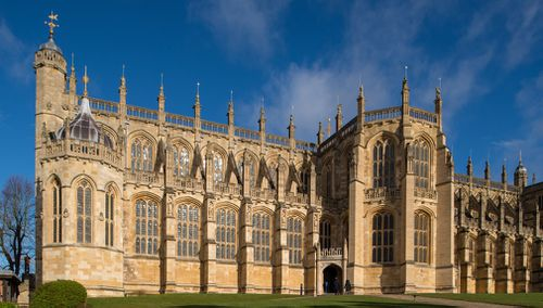 The ceremony will take place at midday at St George's Chapel at Windsor Castle. (Getty)