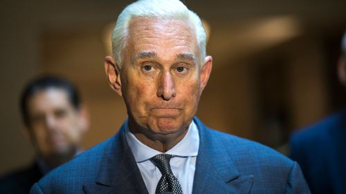 A file photograph of Roger Stone.