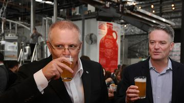 Drinks are on ScoMo after craft beer tax cut