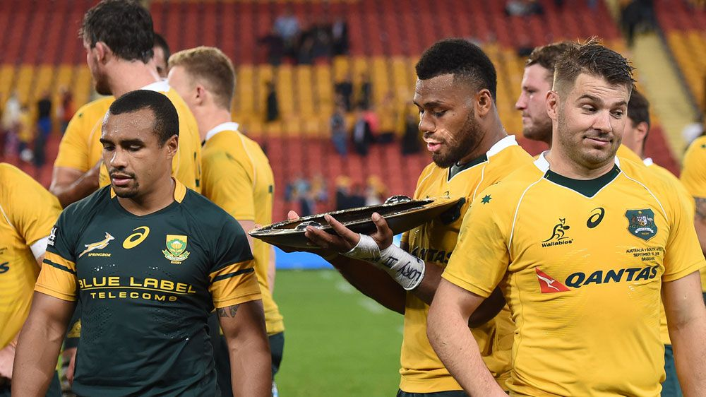 The Pumas' Tomas Cubelli says he has been using social media to cheekily tell the Wallabies they are destined for defeat in Saturday night's clash in Perth.(AAP)