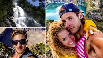 Popular travel vloggers in Canadian waterfall death plunge