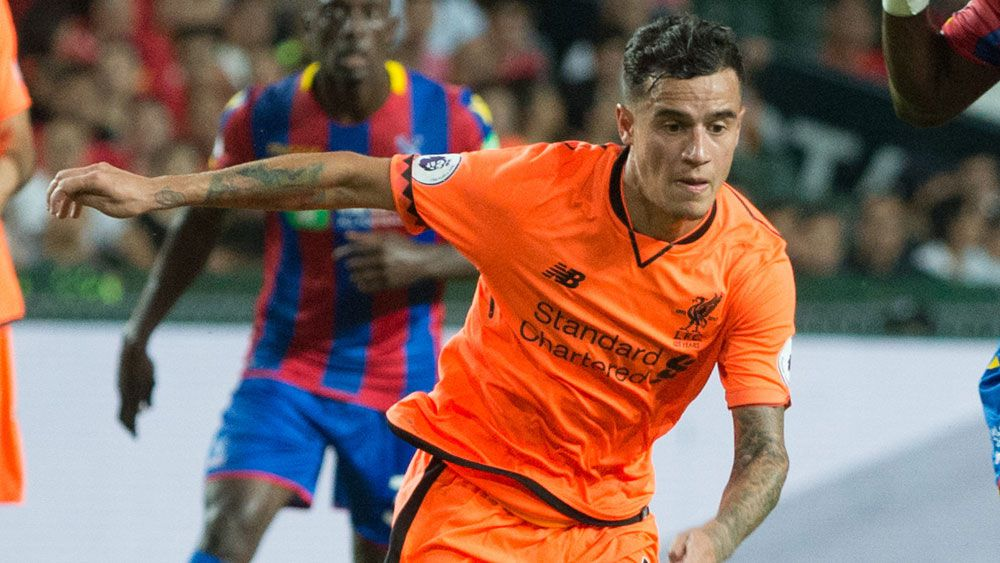 Philippe Coutinho has attracted the interest of Barcelona. (AAP)