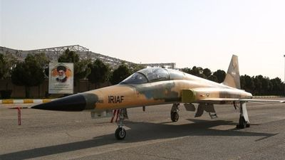 Iran unveils its first ever home-made fighter