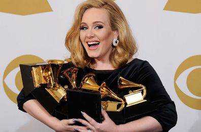 Adele backflips on five-year hiatus