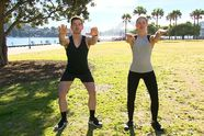 Full-body workout in the park with no equipment