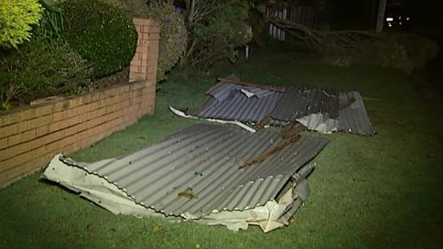 The SES received about a dozen calls for help. (9NEWS)