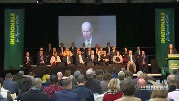 nationals dodge barnaby joyce 'circus' at conference