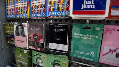 Consumer group Choice has also welcomed the move by Woolworths, calling on other major retailers to follow suit and remove expiry dates from their gift cards as well (Supplied).