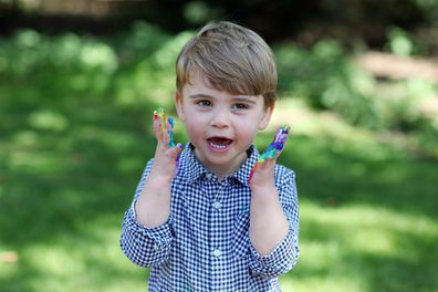 It looks like Prince Louis is having lots of fun for his birthday.