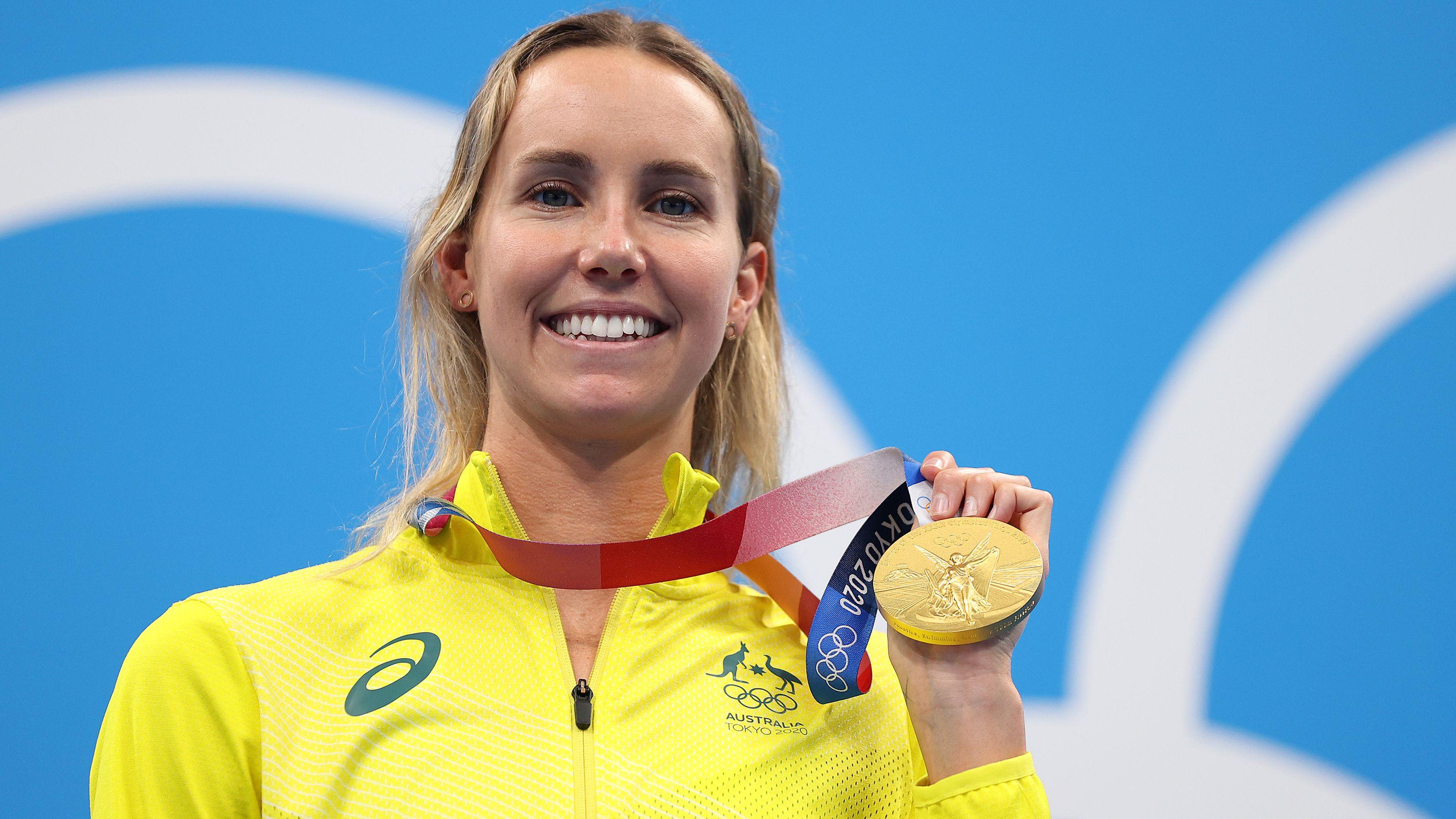 Swim queen closing in on Aussie GOAT status