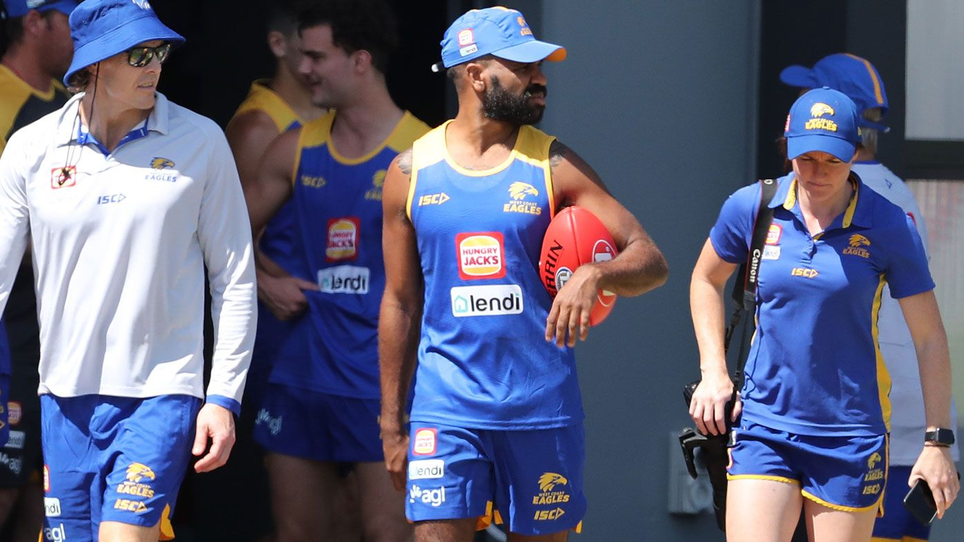 AFL: West Coast Eagles rally around Liam Ryan after racist attack