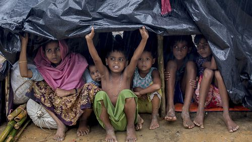 Hundreds of thousands of Rohingya fled Myanmar without shelter, food or water in an attempt to escape the treatment handed down to them by the military.