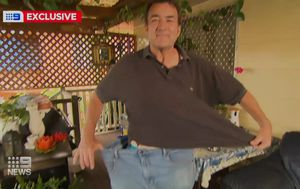 Brisbane father loses 50 kilos on 'cookie diet'