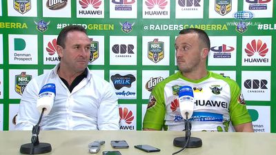 Canberra Raiders lose Tapine for rest of NRL season