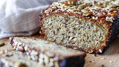 Brooke Meredith's gluten-free quinoa loaf