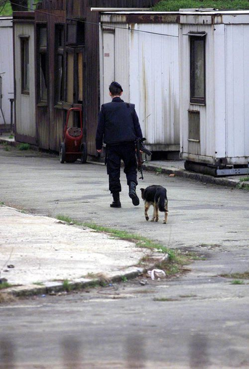 The prison in Belgrade once housed Yugoslavian president Slobodan Milosevic. (AAP)