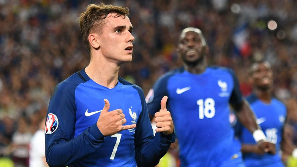 Griezmann named player of the Euros